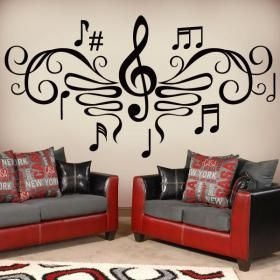 Decoration With Musical Inspiration 3