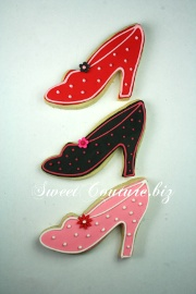 Biscuits soulier fashion Cookies