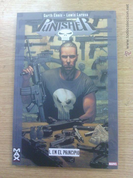 PUNISHER #1 EN EL PRINCIPIO (100 % MARVEL MAX) $18