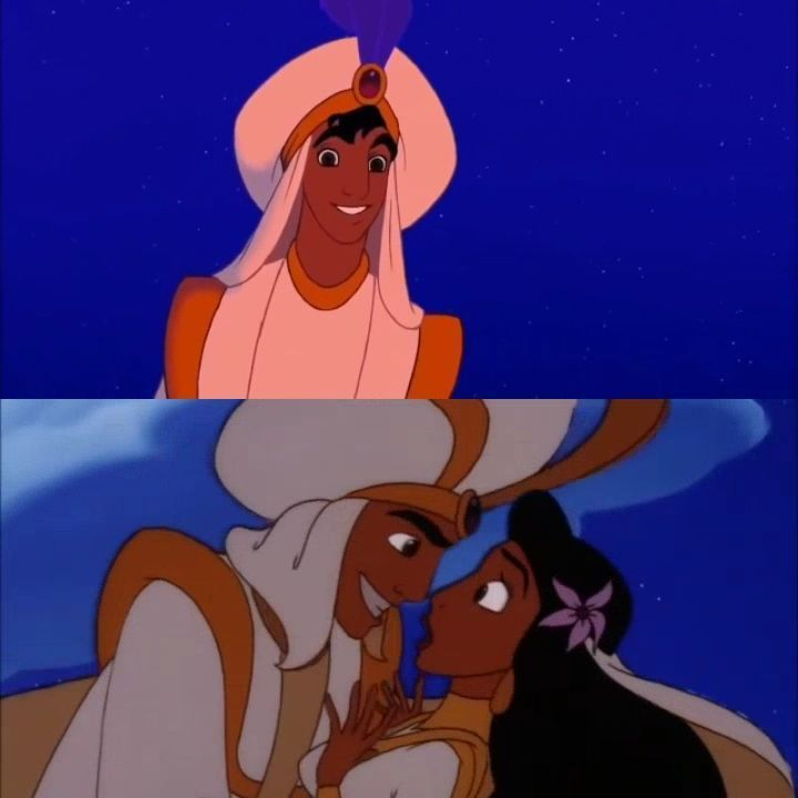 First Kiss Or Last Kiss Aladdin 1992 Aladdin And The King Of
