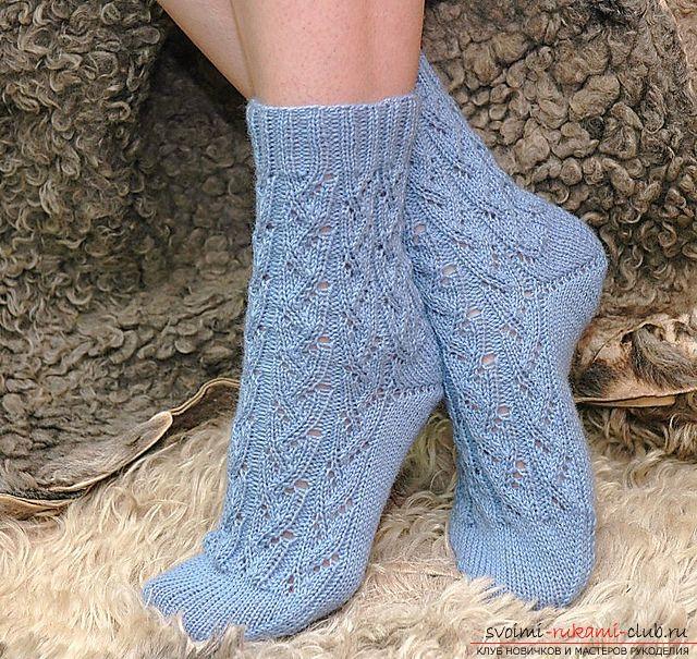 "64 носки ""Ручеек"" с манжеты http://www.ravelry.com/dl/anna-perevezentseva-desi...?filename=Stream_socks_RUS.pdf"