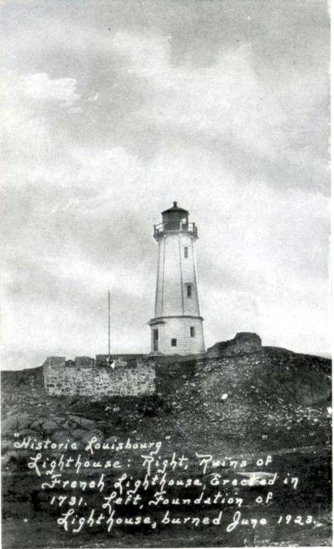 Historic Louisbourg Lighthouse_Cape Breton_Nova Scotia | Photographs And Memories of Cape Breton_Cape Breton Nova Scotia