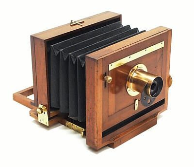 Antique camera scovill waterbury view camera a for American classic antiques