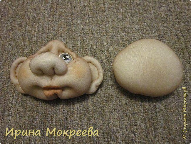Наконец то выкладываю обещенный МК по гномам . Рост готовой куклы 34 см. фото 13