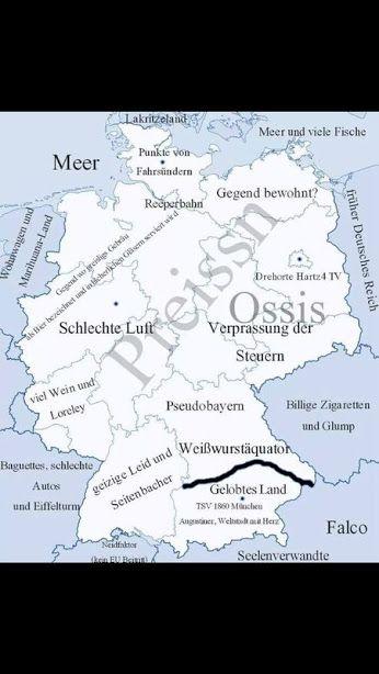 Deutschland aus Sicht der Bayerer