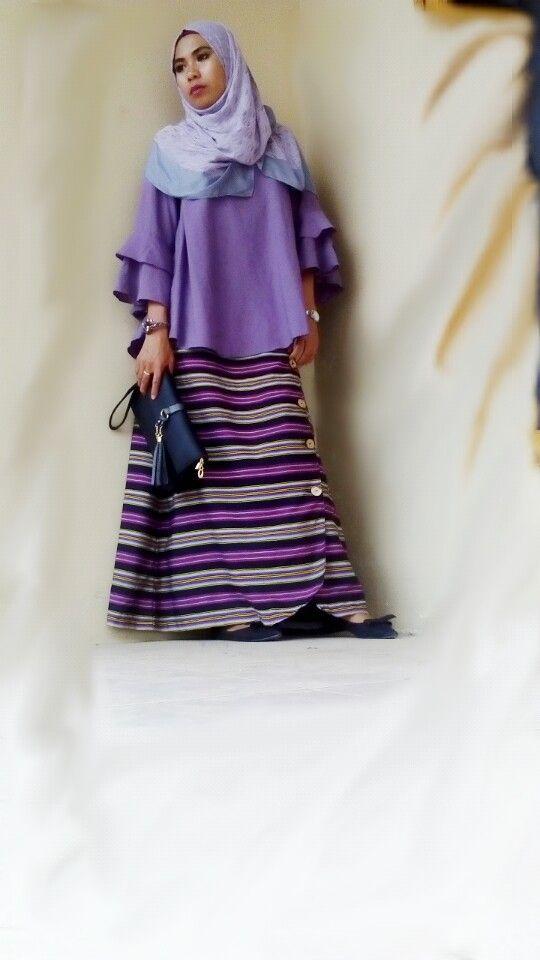 BhiaBhia Long Skirt by Kamooruu (visit @kamooruu on instagram for more)