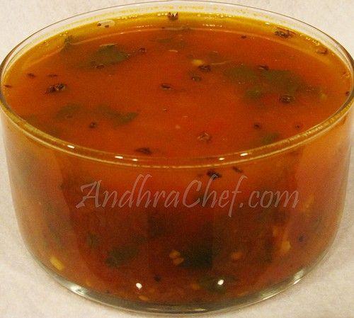 AndhraChef.com-Tomato Rasam %image_name