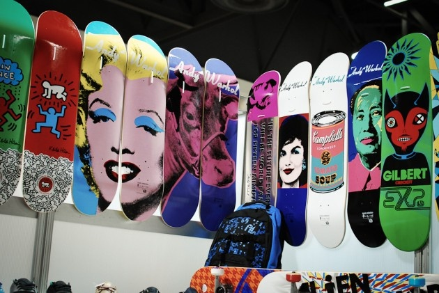 Keith Haring x Alien Workshop Skateboards