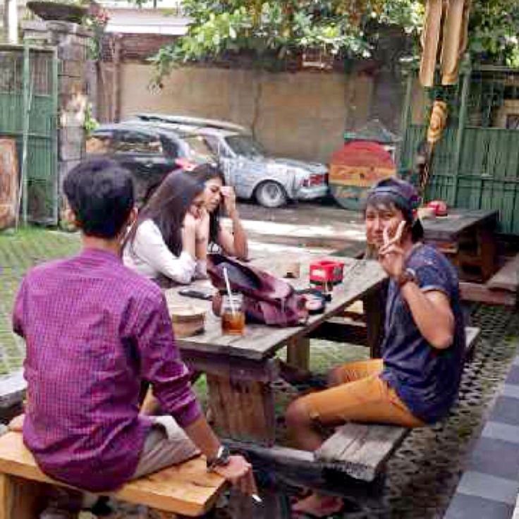 #Welcome Guys to Warung Eat Well Ride Well SANUR GARAGE..