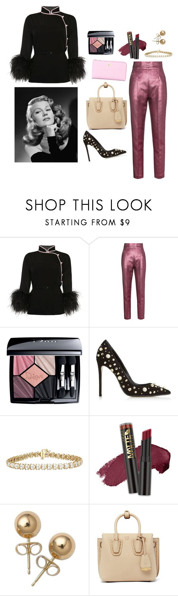 """Nothing like a strong woman."" by bunnisexy ❤ liked on Polyvore featuring Prada, Philosophy di Lorenzo Serafini, Christian Dior, Dune Black, L.A. Girl, Bling Jewelry, MCM and Dolce&Gabbana"