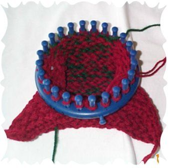 slipper knitting patterns, free knitting patterns for slippers, round loom knitt