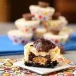 PEANUT BUTTER CUP CHEESECAKES