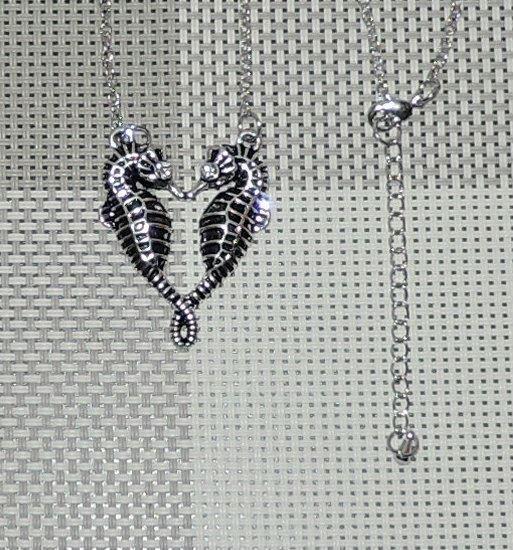 Hjärta | Sjöhästar | Halssmycke | Halsband