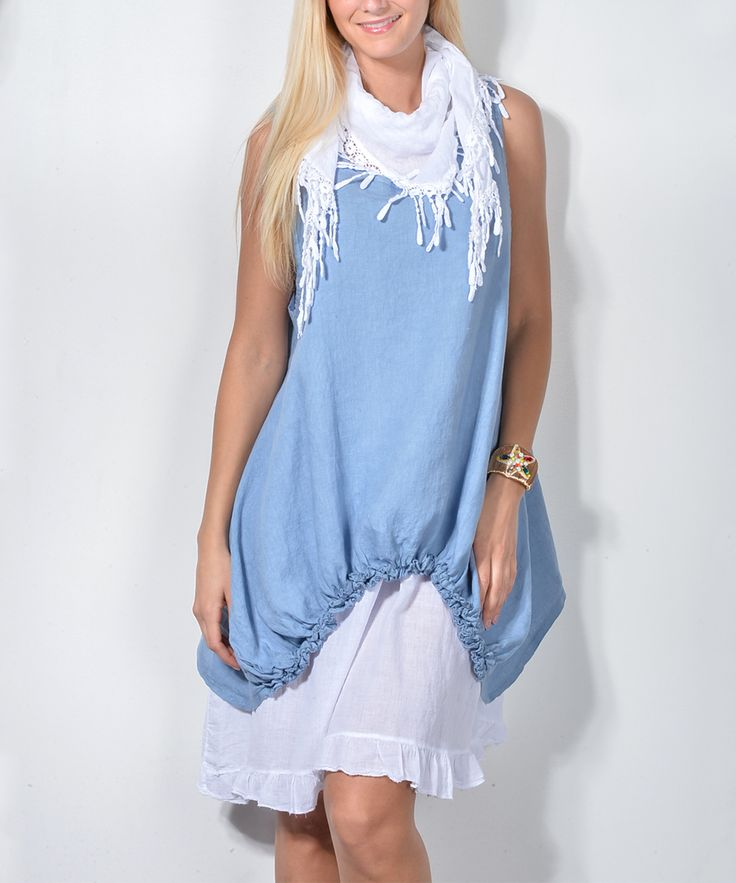 Tassel scarf bandeau maxi dress