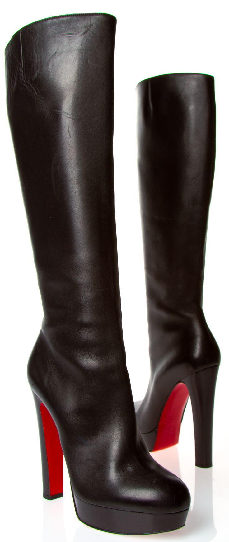 Oh la la! Happy Valentine's Day to Moi! CHRISTIAN LOUBOUTIN BOOTS @Michelle Coleman-HERS