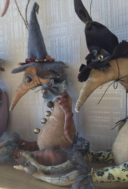 Крыса Ведьмочка мягкая игрушка Серия Хэллоуин - крыса,крысенок,игрушка. Art Toy, custom order $130