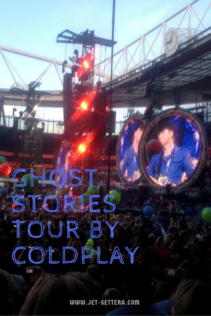 Read about Coldplay's Ghost Stories Tour in London at the O2 Arena | Coldplay…