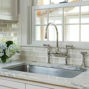 Bright White Cabinets With Pewter Glaze Crackle Glaze