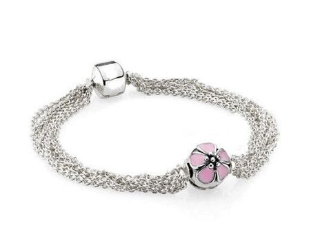 Sterling Silver Layered Chain Bracelet