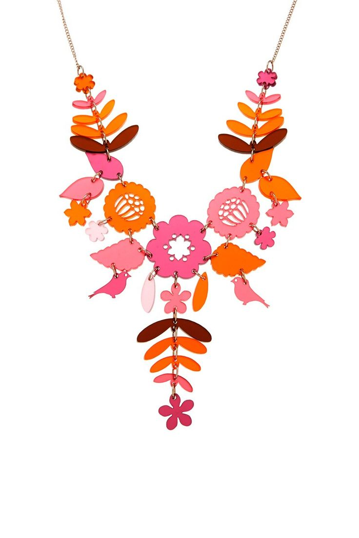 Mexican Embroidery Necklace - Autumn Berries, £95: http://www.tattydevine.com/shop/collections/contemporary/mexican-embroidery-necklace-autumn-berries.html