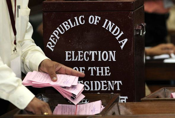 Counting votes begins in Indian presidential election - http://buzznews.co.uk/counting-votes-begins-in-indian-presidential-election -