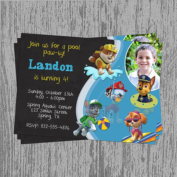 Swim Party Invitation was nice invitations example
