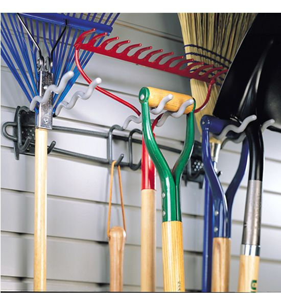 Big Tool Rack Lots Of Storage In A Simple Design For