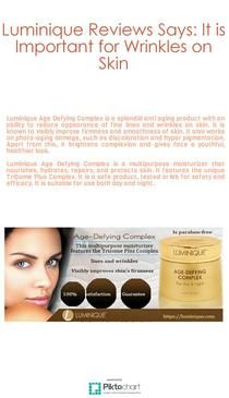 Luminique Age Defying Complex is a multipurpose moisturizer that nourishes, hydrates, repairs, and protects skin.