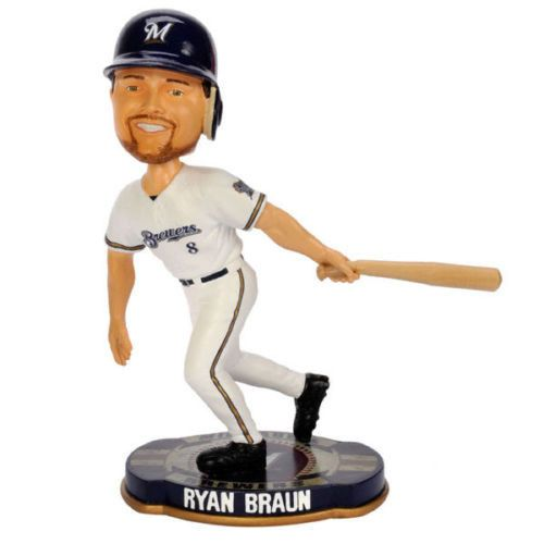 Ryan Braun Milwaukee Brewers MLB bobblehead Forever Collectibles new MLB New in Box