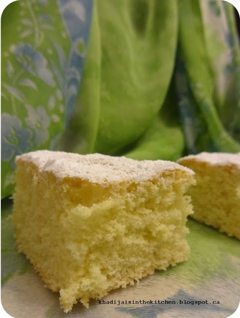 GÂTEAU ÉPONGE (version 1) / SPONGE CAKE (version 1) / BIZCOCHUELO (versión 1) / (كيكة اسفنجية (شكل 1