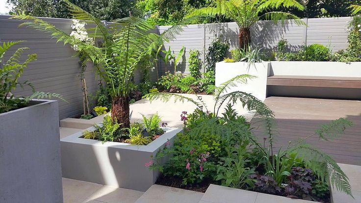Contemporary Courtyard Garden | The Distinctive Gardener | Gardening Services | Ealing W5, west London