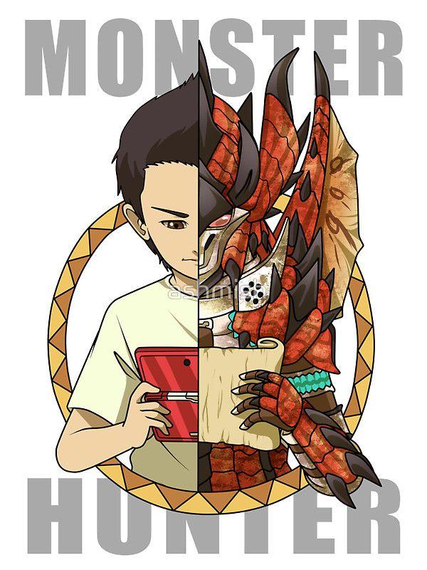 Monster Hunter Life by ashmish
