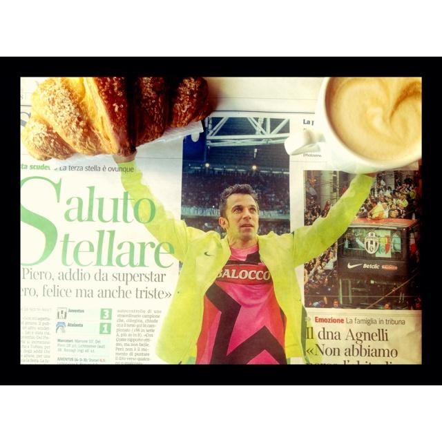 Breakfast with Alex Del Piero