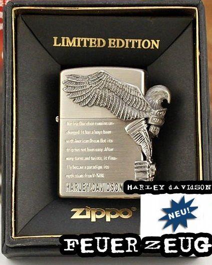 Neues Harley Davidson Zippo Feuerzeug Limited Edition