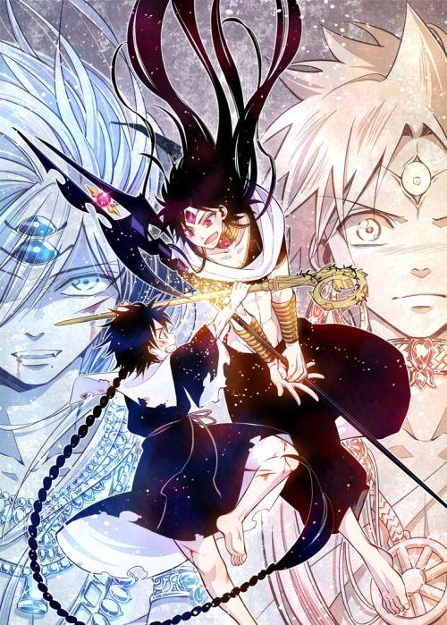 Orient Magi Anime magi, Magi judal, Aladdin magi