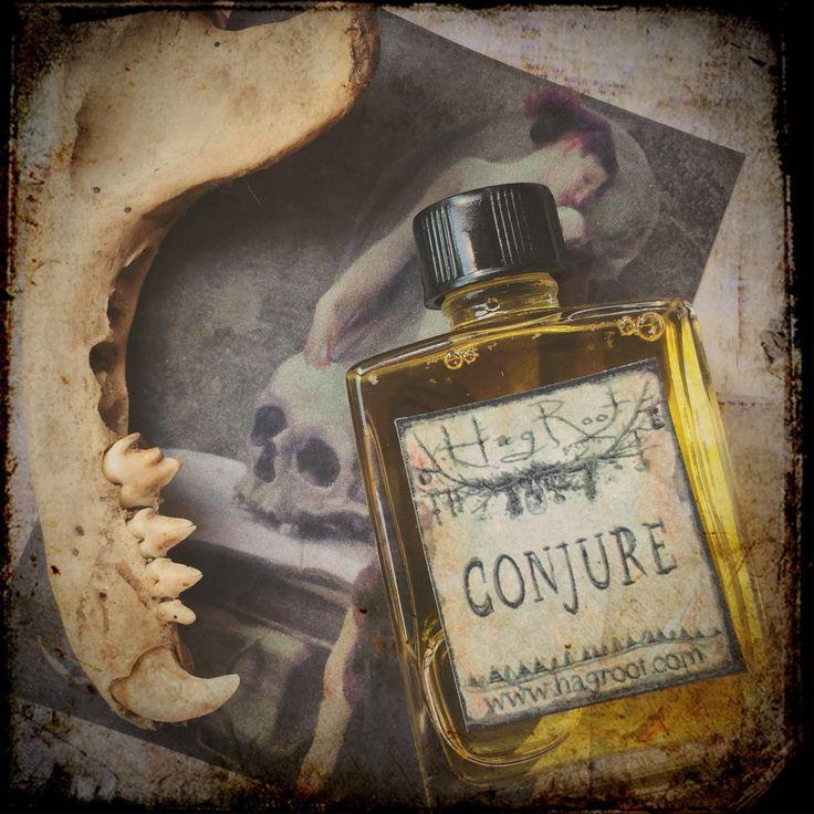 CONJURE (Ginger, Nutmeg, Patchouli, Jasmine, Cocoa, Amber, Heliotrope, Allspice, Clove, Cedarwood, Moss, Vanilla, Sandalwood) Perfume Oil
