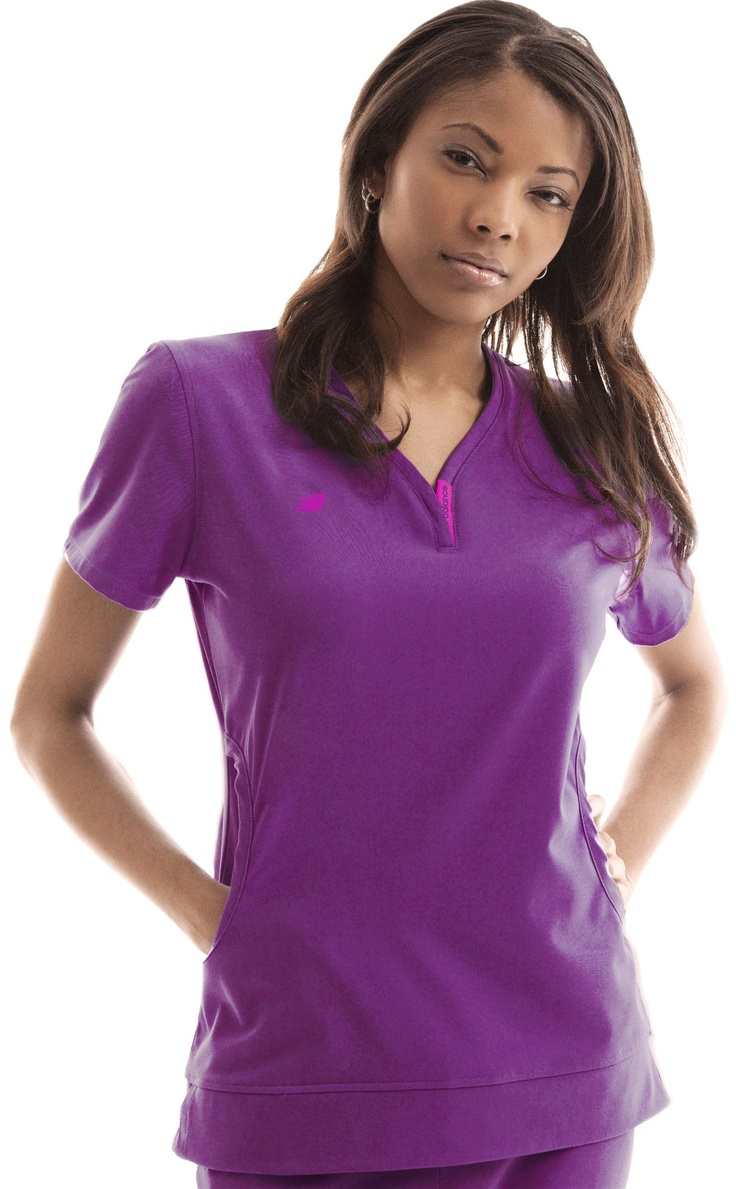 New Balance Advantage Womens Scrub Top. Several Pretty Colors. #nurses #scrubs