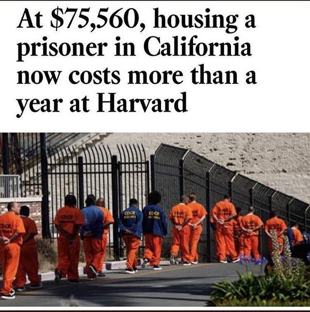"""And y'all wonder what the """"Private Prison System"""" is... how much of that money do YOU think the prisoner sees? This is almost a joke. Taxpayers have to be fucking retarded. I feel fucking retarded from reading this shit.  #WarriorOfTheInnerSun #Reflections #Consciousness #HappyHippy #TreeCult #NatureKicksAss #NatureIsFree #ReturnToNature #Genesis #TheExodus #WakeUp #TimesTicking #PickASide #LightOrDark #TheGrassIsOnlyGreenerWhenItsFakeAsFuck  Please visit 👇🏽 3rdEyeOpener.com 👉🏽 Enter 📺…"""