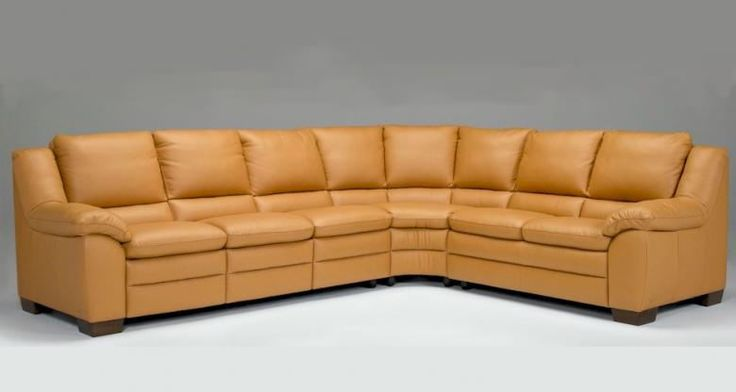 Natuzzi Editions A450 Leather Sectional : Leather Furniture Expo ...