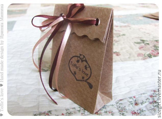 Пакетики из крафт-бумаги - Ярмарка Мастеров - ручная работа, handmade