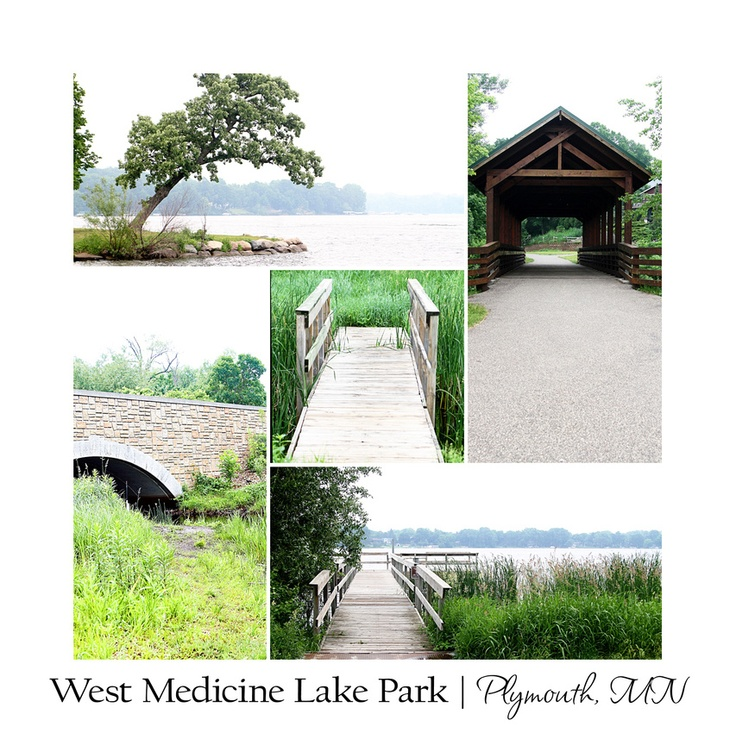 West medicine lake park in plymouth minnesota photo