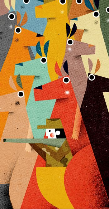 Philip Giordano - spot illustration for Monocle Magazine