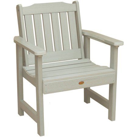 Highwood Eco Friendly Recycled Plastic Lehigh Garden Chair Size