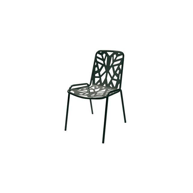 Chaise empilable  Fancy Leaf 1 RD ITALIA : prix, avis & notation, livraison.  La collection Fancy Leaf est en acier prezingué avec une finition laquée en polyester. Cette chaise de table est empilable et sans accoudoir. Deux couleurs disponibles à la commande : Anthracite ou Blanc. La déclinaison Jaune est disponible sur demande ( Les délais sont plus longs). Nous contacter pour plus de détails. RD ITALIA offre une ligne d'article d'ameublement de plein air caractérisé par un haut niveau de…