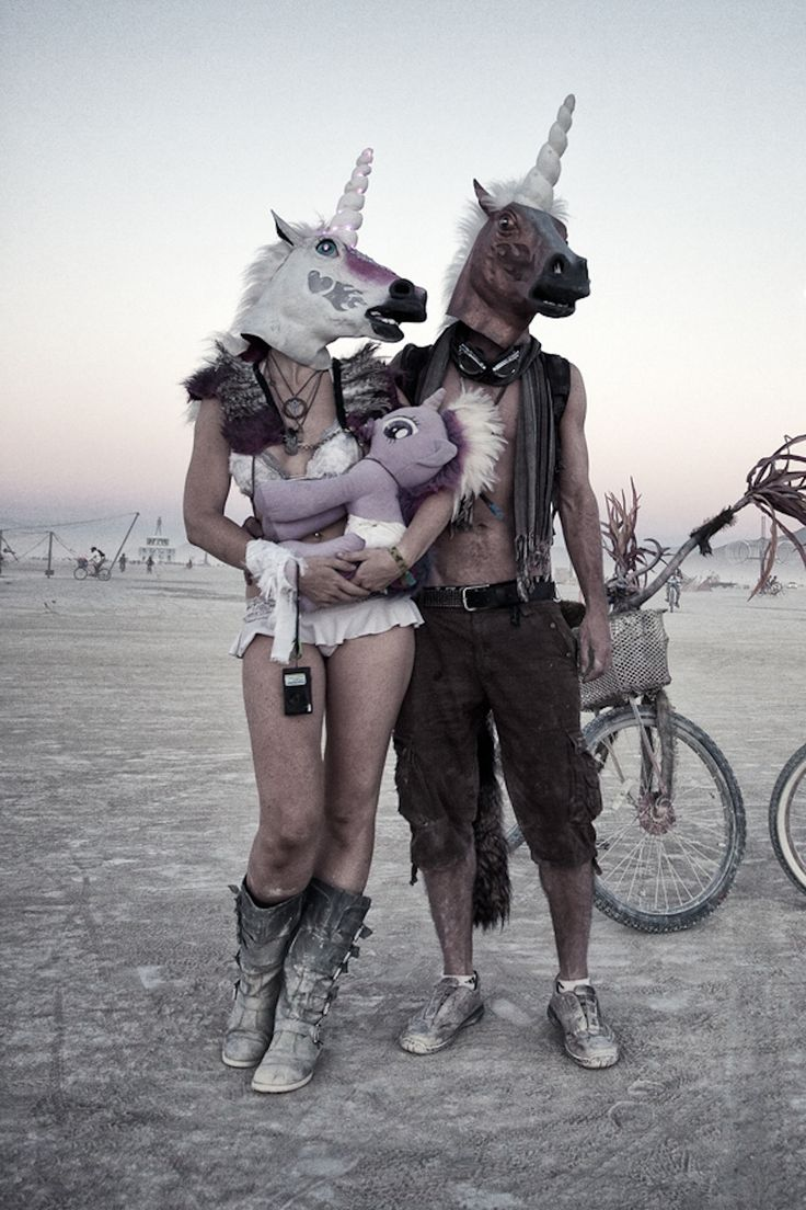 The Definitive Burning Man Lookbook. I love everything about this photo