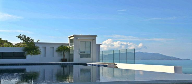 Five bedroom villa with stunning ocean views for rent in Samui   Koh Samui Real Estate - Luxury Property for Sale & Rent
