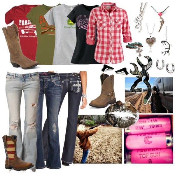 """Country Girl Style"" by texianagirl on Polyvore Guess since I've been in Texas so long I should get some boots and get my TX style going!"
