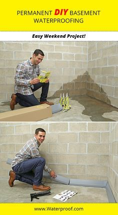 SquidGee Dry Systems gives you the opportunity to waterproof your basement like a  PRO on a DIY budget! It's affordable, dependable, and taps into hydrostatic pressure in your basement walls! The only skill needed is the ability to follow instructions. http://waterproof.com