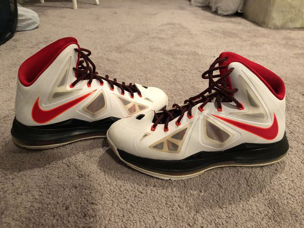 Nike Lebron X Size 10 For Sale In Boiling Springs Sc Offerup Nike Nike Lebron Shoe Laces