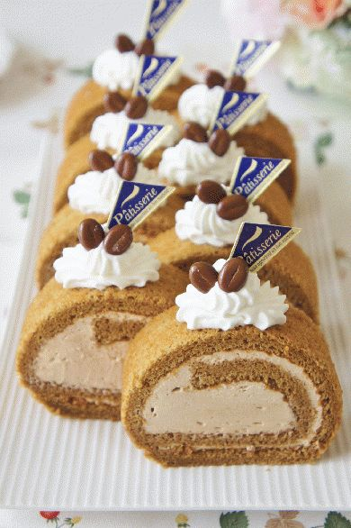 コーヒーロールケーキ by nyonta | cotta